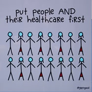 Put people and their healthcare first